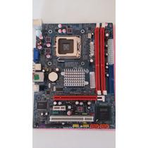 Placa Mae Mega G41t-m7 Lga 775 Ddr3 Usada Ok P/ Quad Core
