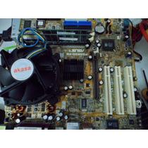 Placa Mãe Asus P5s800- Vm 775 Ddr 1 + P4 3.0 Cooler