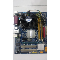 Kit Gigabyte 945gcm-s2c+1gb Memória+proc. Core2duo E7400