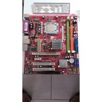 Placa Mãe Pos-mi945aa Lga 775 Ddr2 Fsb 1066 P/ Core 2 Duo
