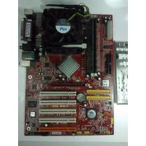 Kit Placa Mãe Msi Pt8 Neo-v + Pentium 4 2.4ghz + 1gb