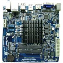 Board Ipx1800 C/ Celeron Dual Core Mini Itx / Hdmi / Ddr3
