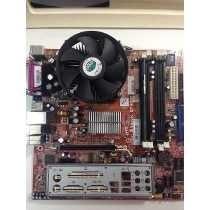 Kit Placa Mãe Itautec 4150+core2duo+memória Ddr2