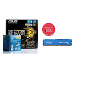 Kit Asus 81m-a + Intel Core I3 4130 + Mem 4gb 1600mhz