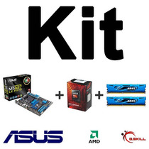 Kit Asus M5a97 Le R2.0 + Amd Fx-6300 + Memórias 8gb (2x4gb)