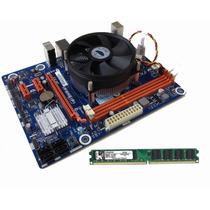 Kit Core I5 3.60ghz + Placa Mãe H61 Hdmi + Memória 4gb Ddr3