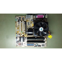 Kit Placa Mãe Asus P5gd1-hvm 512mb 2x256/ P4 2.8ghz