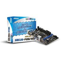 Kit Placa Mãe Msi 1155 + Intel Core I3 2130 + 4gb Ram Ddr3
