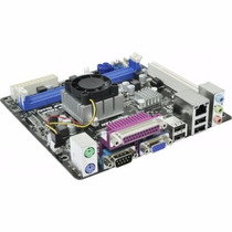 Mb Asrock Ad525pv3 Mini-atx Intel Atom Dual Core D525 1.8ghz