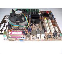 Kit Placa Mãe Asus P5gd1-vm 775 Proc. 3.2ghz 02gb Memória