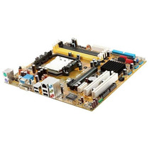 Kit Placa Mae Asus M2n-vm Dvi+proc Athlon 64x2 Duol Core 2.7