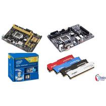 Kit Pentium G3250+asus Ou Gigabyteh81+4gb Memória Hypex Fury