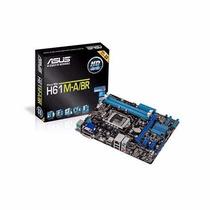 Placa Mãe Asus H61 Intel Lga 1155 H61m-a/br 3ª Geração