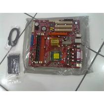 Placa Mãe Pc-chips P23g V3.0 Soquete 775 Ddr1 E 2 - Usada Ok