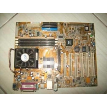 Kit Placa Mãe Asus A7v8x-x Offboard 462 + Athlon Xp 2400+