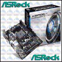 Placa Mãe Asrock Fm2a55m-vg3 Fm2+ Amd A4 A6 A8 A10 Ddr3