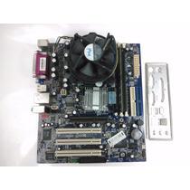 Kit Placa Mãe Foxconn Dg-661fx + Pentium 4 3.2ghz Ht + 1gb