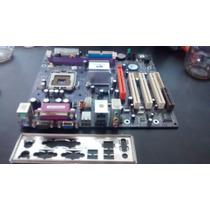 Placa Mae 775 Fsb 1066 Ddr2 533 Agp Ecs P4m800pro-m2 Rev2.0