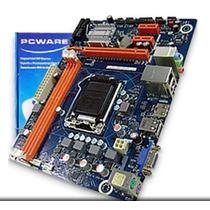 Placa Mãe Lga 1155 Pcware Ipmh61p1 16gb At Core I7 + Brinde