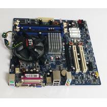 Kit Placa Mãe C/ Processador Core 2 Duo E-8400 C/ Cooler O&m