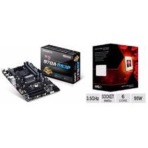 Kit Gigabyte Ga-970a-ds3p Am3 + Processador Fx 6300 3.5ghz