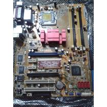 Placa Mãe Asus-p5n- Sli Socket Lga775 Nova