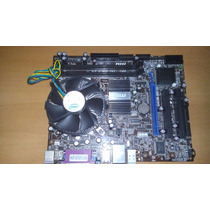 Kit Placa Mãe 775 Msi G41m S01 + E6750 Com Cooler + 4gb Ddr3