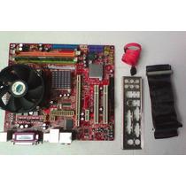 Kit Placa Msi Ms7267 4.5 775 Dualcore Até4gb Sata Pci Ex 16x
