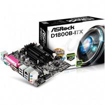 Asrock Placa Mãe D1800b-itx Pci-e 2.0 + Intel Core 2.4ghz