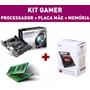 Kit Pc Gamer Amd A4 7300 4.0 Apu Memoria 4gb Placa Mãe Fm2+