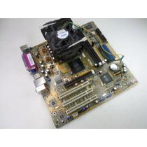 Placa-mãe Asus P4s8x-mx Socket 478 + Pentium 4 2.53ghz