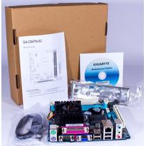 Placa Mae Ddr3, Ga-c847n-s2 Intel Dual-core Celer (nova !!!)