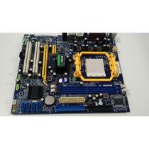 Placa Mãe Desktop Amd Am2 Foxccon A6vmx Series Nova !!!