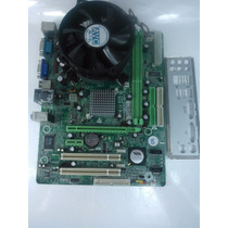 Kit Placa Mãe Biostar P4m900-m7 Fe + Dualcore E1500