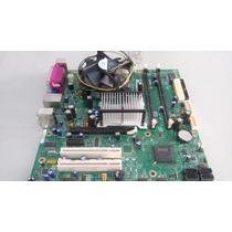 Kit Placa Mãe Intel E5200 Pentium Dual Core Funcionando (084