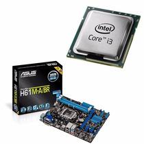 Placa-mãe Asus H61m-a/br + Intel Core I3-2120
