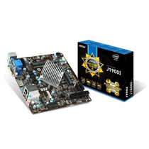 Placa Mãe Msi J1900i - Intel Quad Core - 2.42ghz - Mini-itx