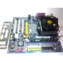 Placa Mãe Ga-k8vm800m + Athlon 64 + 1gb Ddr + Espelho