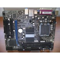 Placa Mãe Msi Ddr3 G41m-s01 Socket 775 Até Core 2 Quad