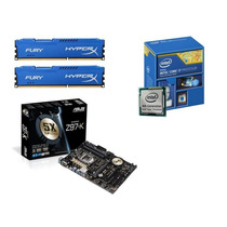 Kit Intel Core I7 4790 + Placa Asus Z97-k + 8gb Kingston