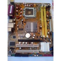 Kit Placa Mãe Asus P5gc-mx/1333 +2gb+processador+hd