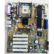 Placa-mãe Asus P4s800 Socket 478 - Funcionando
