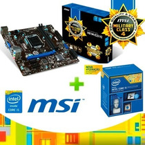 Kit Lga 1150 Pentium D.core G3240 3,1 Placa+proc+memoria+4gb
