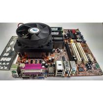 Kit Placa Mãe Itautec St4341 + Pentium 4 + 1gb + Cooler