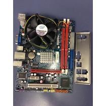 Placa Mãe Mw-g41t-m7, C/ Processador Core 2 Duo 2.40ghz