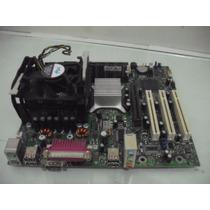 Kit Placa-mãe Intel 478 Ddr400 + Pentium 4 1.8ghz + 1gb Ram