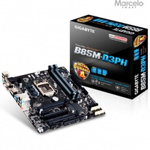 Mb Ga-b85m-d3ph Gigabyte 1 Pci-e 2.0 16x Dimm Frete Grátis