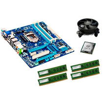 Kit Ga-q77-d2h Lga1155 + Intel I5 + Mem 16 Gb Ddr3 + Cooler