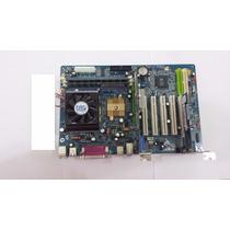 Kit Placa Mãe Slot 462, Com Processador, 1 Gb De Memoria Ram
