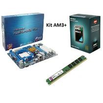 Kit Am3+ Athlon Ii X2 255 3.1ghz + Asrock N68 - S3 Fx + 4gb